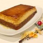 Receta de pastel de chocolate y flan. Tarta de flan o chocoflan  Mi receta de cocina
