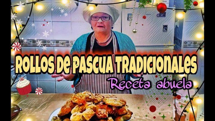 Rollos de Pascua cocina para todos de toda la vida | Receta tradicional de la abuela (Para Navidad)