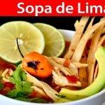 Sopa de Lima (Cocina Yucateca) | #VickyRecetaFacil
