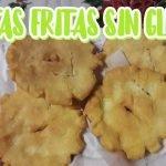 TORTAS FRITAS SIN GLUTEN(pocos ingredientes) Mi receta de cocina