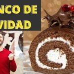 🔴TRONCO DE NAVIDAD 🏠 desde casa 🔴 FÁCIL Y DELICIOSO Receta paso a paso ❤❤ Postres Faciles Navideños
