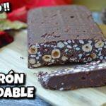TURRÓN DE CHOCOLATE SALUDABLE I Sin azúcar + Sin Gluten + Sin lácteos  Mi receta de cocina