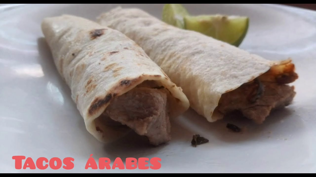 Tacos Árabes Receta casera La Cocina de Queka