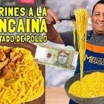 Tallarines a la huancaina con 10 SOLES   COCINA FÁCIL   Mi Receta Mágica