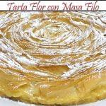Tarta Flor con Masa Filo | Receta de Cocina en Familia