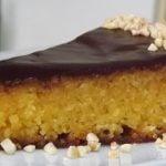 Tarta de Almendras y Naranja  jugosa y muy esponjosa  Mi receta de cocina