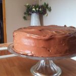 Tarta de chocolate, fudge cake: ESP  Mi receta de cocina