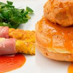 Tortilla rellena de queso - Corona de pasta choux - Cocina Abierta de Karlos Arguiñano 😋