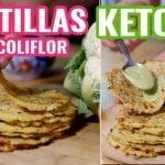 Tortillas Keto - Bajas en Carbohidratos ¡Solo 3 Ingredientes!  Mi receta de cocina