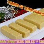 Turrón de yema blando navideño para diabéticos🎄Bajo en carbohidratos🎄sin azúcar y saludable  Mi receta de cocina
