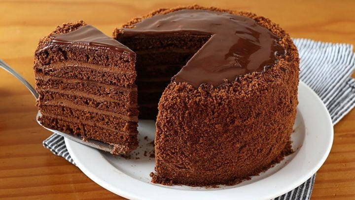 ¡Sin horno! Tarta de chocolate que se deshace en la boca