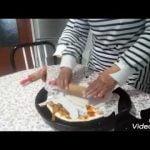 لذيدة وبدون غلوتين وساهلة pizza como hacer pizza sin gluten,fácil y muy rica😋  Mi receta de cocina