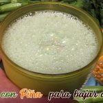 Agua de Apio con Piña para bajar de peso  Receta Nicaraguense