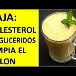 JUGO PARA Bajar el colesterol, triglicéridos , presión alta y limpia el colon