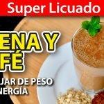 Baja de Peso con Licuado de Avena y Café   #VickyRecetaFacil