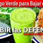 Jugo Verde para Bajar de Peso y SUBIR las DEFENSAS | #VickyRecetaFacil
