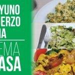 Desayuno hasta Cena para Perder Peso - Dia Completo de Comida Dieta Cetogenica para Adelgazar