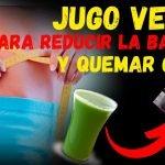 JUGO VERDE PARA PERDER PESO RECETA - Jugo verde quema grasa para bajar de peso
