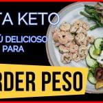 Receta Keto_Menú fácil y rápido para PERDER PESO‼🔴 en una dieta keto o dieta cetogenica