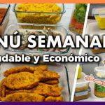 💚 Menú SEMANAL Saludable y Económico #2 🕒 Comer BIEN y BAJAR de PESO ¡ES POSIBLE! 🤩