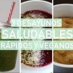 3 IDEAS DE DESAYUNOS DE VERANO SALUDABLES, RÁPIDOS Y VEGANOS Sin gluten y sin azúcar  Mi receta de cocina