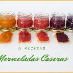 6 MERMELADAS caseras, saludables/sin azúcar refinada/como HACERLAS Y CONSERVARLAS🍓🍎🍍🍑  Mi receta de cocina