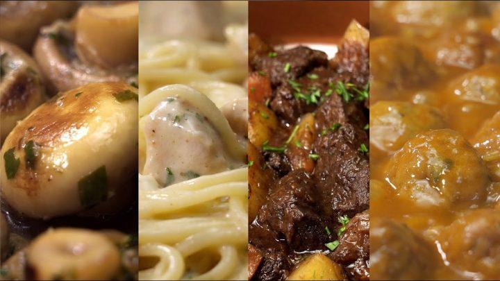 9 COMIDAS rapidas y faciles de hacer - Recetas de cocina