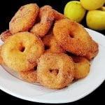 ❤ AROS DE MANZANA con canela, donas de manzana, receta fácil 😋 Mi receta de cocina