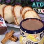 ATOLE DE NUTELLA - RECETA SUPER RAPIDA -COCINA DELI