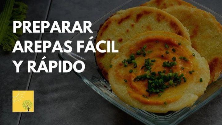 Arepas Con Ghee Recetas Cocina Vegetariana Tutorial Como Preparar