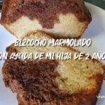 BIZCOCHO MARMOLADO - MI HIJA DE 2 AÑOS ME AYUDA  Mi receta de cocina