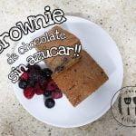 Brownie de chocolate!!! SIN AZÚCAR (low carb)!!! LOS MEJORES BROWNIES KETO DEL MUNDO Mi receta de cocina