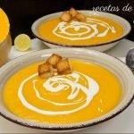 CREMA DE CALABAZA RECETA FÁCIL RÁPIDA SALUDABLE Y ECONÓMICA / EASY RECIPE PUMPKIN CREAM Mi receta de cocina