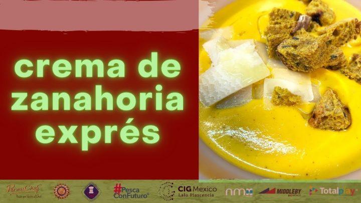 CREMA DE ZANAHORIA EXPRÉS #shorts #cocina #recetas