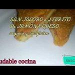 CRUJiENTE por fuera y JUGOSO por dentro SAN JACOBO o LIBRITO De JAMÓN Y QUESO vegano y sin gluten👍  Mi receta de cocina