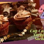 CUPCAKES  🧁de TURRON de SUCHARD  /🍫/ Recetas navideñas 🌲 Postres para Navidad 🌲re Cupcakes navideños