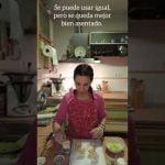 Cocina en casa por Navidad, con Verónica.