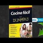 Cocina fácil para Dummies Libro de Inés Ortega EPUB y PDF