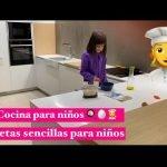 Cocina para niños recetas fáciles para cenar #realfooding para niños