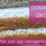 Cocinando Keto con Carol Pan con ajo cetogénico bajo en carbohidratos sin gluten sin azucar  Mi receta de cocina