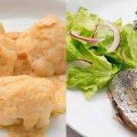 Coliflor con salsa de almendras - Sardinas rellenas - Cocina Abierta de Karlos Arguiñano