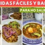 Comidas fáciles, BARATAS Y nutritivas para No salir de casa / Cocina de Addy