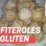 Cómo hacer BOMBAS sin gluten-PROFITEROLES SIN TACC  Mi receta de cocina
