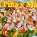 Cómo hacer Ensalada tropical | El Dulce Paladar