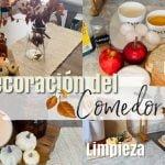 Decoración🍂Otoño Comedor| Limpia, cocina y decora conmigo | Receta pan de🍎 Manzana- Jenny en Casa