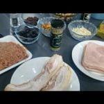 Delicioso PAVO al horno🦃 tradicional c/relleno  Receta para cena de Navidad o Año Nuevo!   ●Parte 1●