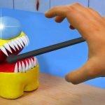 ENTRE NOSOTROS EN VIVO: Muy Malos Momentos - ASMR Stop Motion Cooking & Funny Animation