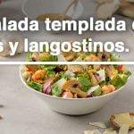 Ensalada Templada de Setas y Langostinos 🥗 🦐    Recetas de Ensaladas   Lidl España  Mi receta de cocina