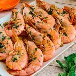 Esta es la receta de langostinos mas facil y mas rica y tiene una salsa brutal ¡COMPRUEBALO!