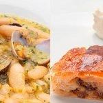 Fabes con almejas - Strudel de manzana - Cocina Abierta de Karlos Arguiñano